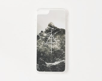 iPhone 6 Plus Case - Black Mountain iPhone 6s Plus Case - Hard Plastic or Rubber