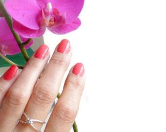 Crisscross Ring Sterling Ring Hammered Ring Handmade Ring For Women Spring 2017