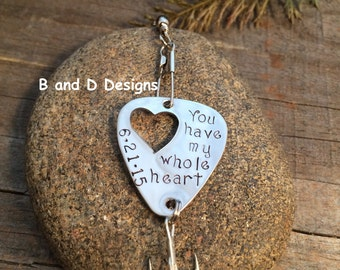 Perfect for Father's Day! Personalized Fishing lure for that special someone in your life