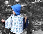 Riding Hood Poncho PDF Pattern 6mos - 8yrs