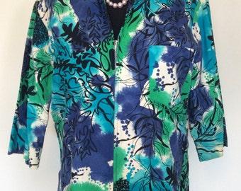 Vintage Hawaiian Jacket - Large