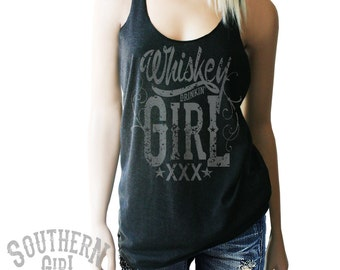 Whiskey Girl Tank. Whiskey Shirt. Whiskey Shirts. Whiskey Drinking Shirt. Southern Girl. Whiskey Tank. Country Music. Drinking Shirts.