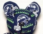 Seattle Seahawks- 23 inch Custom Bear