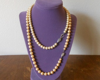 SALE!!!! Pearl necklaces Vintage