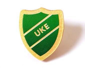 UKE acrylic prefect badge