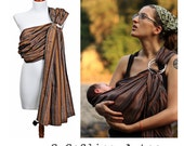 GuGaSling Aztec/Baby sling ring/Baby wrap/Baby carrier/Sling/Ring sling/Cotton/Old shcool/Gift bag