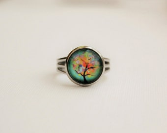 Colorful Tree Ring