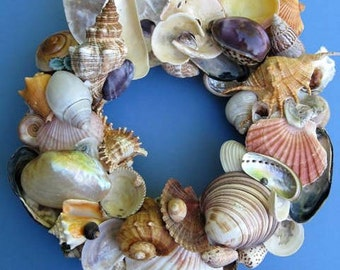 Colorful Shell Wreath –SW70