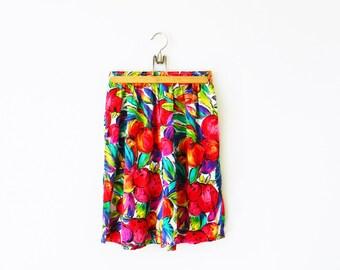 Vintage flowy shorts | Etsy