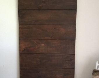 Rustic Horizontal Plank Sliding Barn Door, Sliding Barn Door, Rustic Custom Barn Door Design, Ship Lap Barn Door