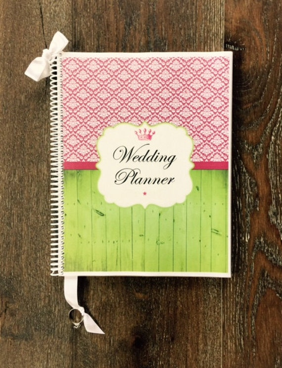 Items Similar To Wedding Planner Book Wedding Organizer Engagement Gift Wedding Planning Guide