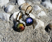 Astronomy  Earrings * Science Jewelry * Nerdy Accessories * by Tejidos on Etsy * Outer Space Jewelry