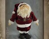 "Santa Pattern: Pappa Claus - 21"" Santa Doll Pattern, Woodkit, Accessory Pak or Set by Sparkles n Spirit"