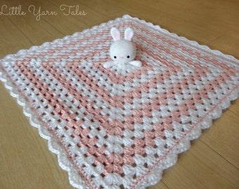 Bunny Baby Security Blanket