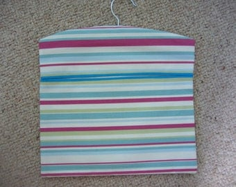 peg bag, fun stripy peg bag, bag for pegs, bag for hanging out the washing, mother's day present, utility room tidy, laundry organiser