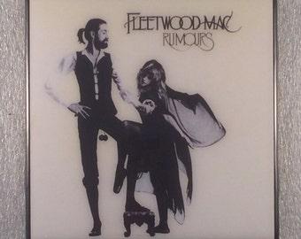 FLEETWOOD MAC Rumours Record Cover Ceramic Coaster