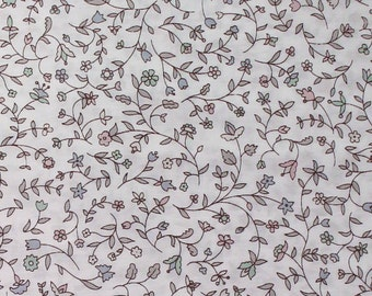 """Liberty Tana Lawn Cotton Fabric 2015 Autumn/Winter Art Collection CATHY E -  sold by XL Fat Quarter (19.75"""" x 26.75"""") Buy by 1/4 Metre"""