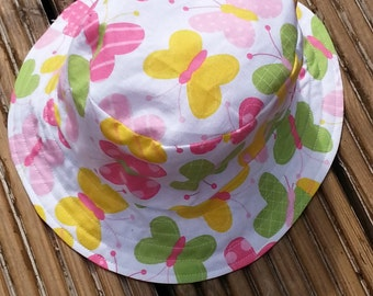 Reversible toddlers sunhat