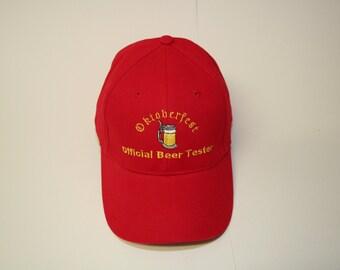 """Oktoberfest CAP """"Official Beer Tester"""""""