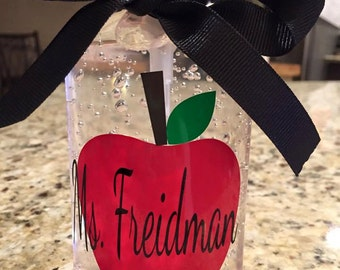 Personalized Hand Sanitizer - Great Teacher Gift