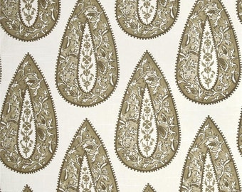 Designer Lacefield Bindi Sand Drapes and Valances, (SOLD IN PAIRS)