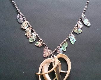 Genuine Mother of Pearl Shell Necklace