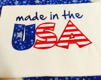 Made in the USA Personalized Shirt