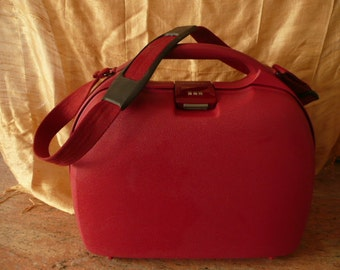 Travel bag,Red middle size bag,elegant handbag for Lady