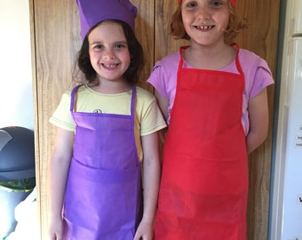 Children's Apron and Chef Hat........