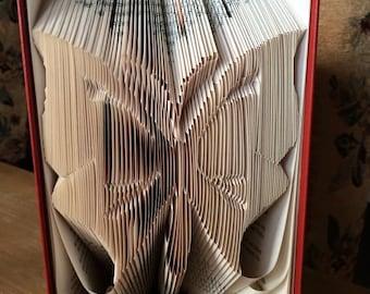 Book Folding Butterfly Pattern & Instructions