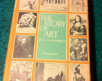 Vintage 1951 / The STORY of ART by E. H. Gombrich Fourth Ed. Revised Printed in USA