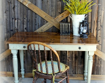 Early American Writing Desk / Harvest Table / console table