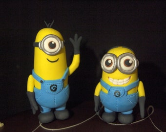 Fondant Minion Inspired Figurines (MADE TO ORDER)