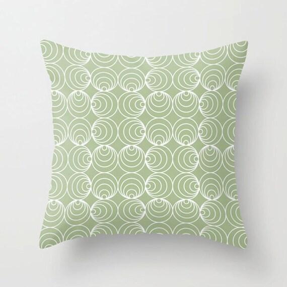Purple And Gray Decorative Pillows : Circles decorative throw pillow in purple gray blue green