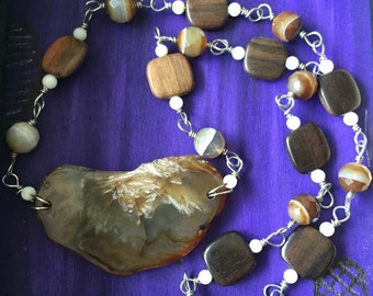 SALE-Earthy agate