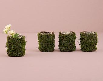 Set of 4 Mini Garden Wedding Favors - Wedding Favor - Bridal Shower Favor - Party Favors - Woodland Garden Wedding Favors - Bridal Party