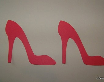 High heel die cuts