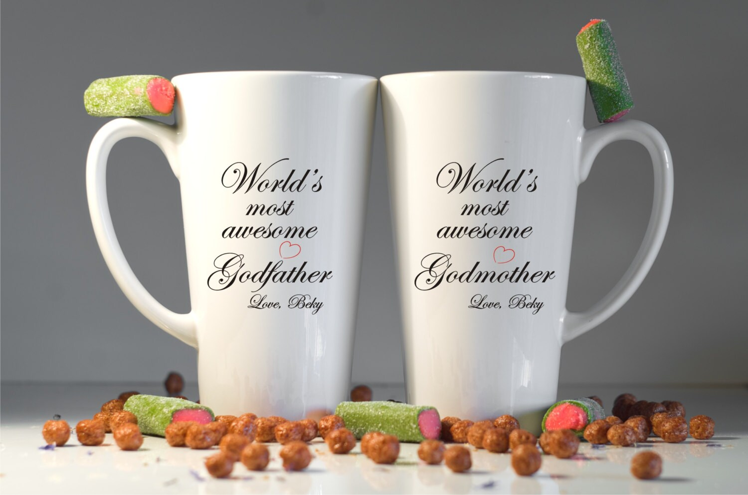 Personalized GodmotherGodfather Mugs-Godparents