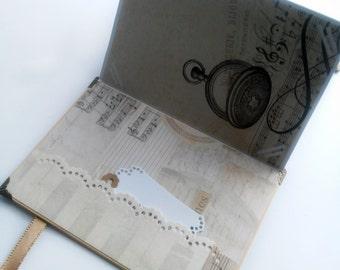 Mother's Day Gift, Vintage Accordion Album, Vintage Photo Book, Pocket Photo Album, Accordion Book, Memory Book, Zigzag Photo Album
