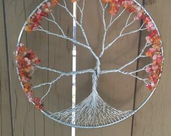 Wire Tree of Life Suncatcher