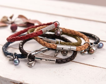 Festival Bolo Leather Bracelet