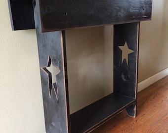 Primitive Hallway Table, Entryway Table, Console Table