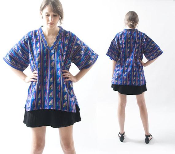 Mexican Shirt Sizes Guatemalan Top / Mexican Shirt