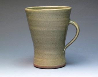 David Leach Vintage Signed Mug, Hand Thrown Studio Pottery, St Ives Leach Pottery Connection, 1950's