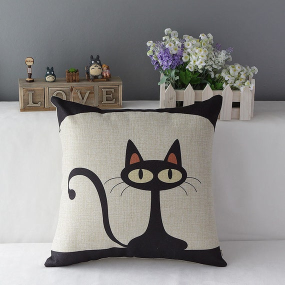 Cat pillow dog pillow throw pillow decorative pillows by - Cojines decorativos para sofas ...