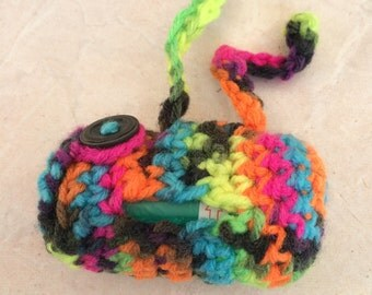 Crochet Dog Bag Holder