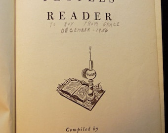 The Peoples Reader Compiled by Marjorie Barrows, 1949