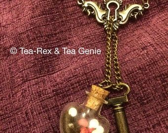 Lock, Tea and Key! Red and White Pearl Version