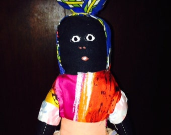 African Folk Art Doll
