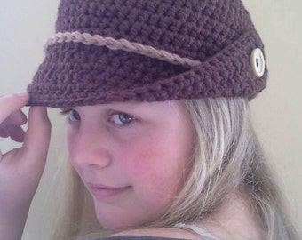 Ladies, teens crocheted hats.